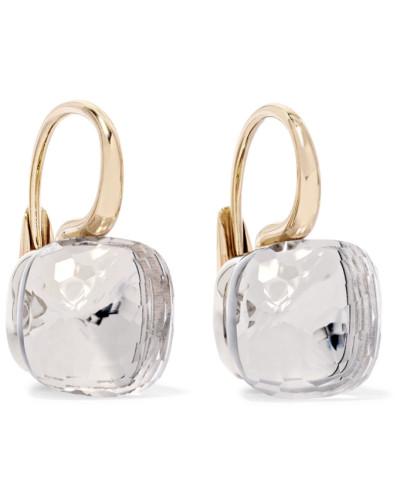 Nudo Classic Ohrringe aus 18 Karat Rosé- und Weißgold