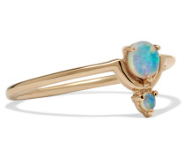 Nestled Ring aus 14 Karat  mit Opalen