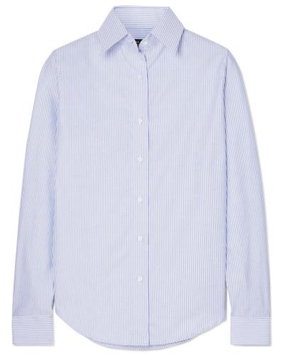 Gestreiftes Hemd aus Baumwoll-oxford
