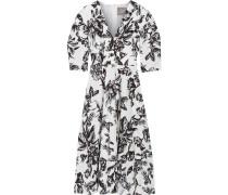 Kleid aus Baumwolle mit floralem Print
