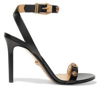 Verzierte Sandalen aus Leder -