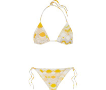 Guiola Bedruckter Triangel-bikini -