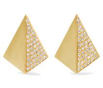Shadow Ohrringe Aus 18 Karat Gold Mit Diamanten