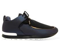 Doda Sneakers Aus Leder Und Neopren - Navy
