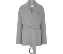 Lilo Doublé Mantel Aus Einer Woll-kaschmirmischung Mit Gürtel -