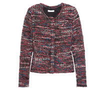 Carene Jacke Aus Bouclé-tweed - Rot