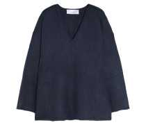 Iconic Kaschmirpullover In Oversized-passform - Navy