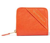 Portemonnaie Aus Strukturiertem Leder Mit Prägung -