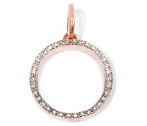Naida Circle Anhänger Mit Roségold-vermeil Und Diamanten