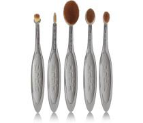 Elite Smoke 5 Brush Set – Set Aus Fünf Make-up-bürstchen - Dunkelgrau