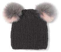 Mimi Beanie Aus Wolle Mit Faux Fur -