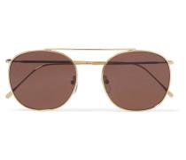 Mykonos Ii farbene Sonnenbrille Mit Rundem Rahmen