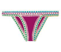 Coco Triangel-bikini-höschen mit Häkelbesatz -