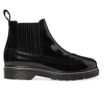 Chelsea Boots Aus Glanzleder -