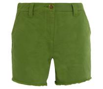 Badgemore Shorts Aus Baumwoll-drillich - Grün