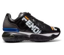 + Fila Sneakers aus Leder und Gummi