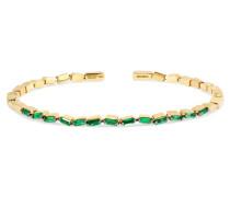 Armspange aus 18 Karat  mit Smaragden