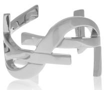 Monogramme Armspange Aus Versilbertem Messing