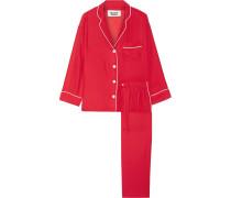 Marina Pyjama Aus Seiden-charmeuse -