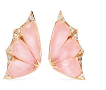 Fly By Night Ohrringe aus 18 Karat  mit Opalen und Diamanten