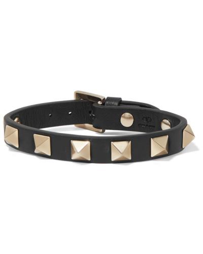 Garavani Rockstud Armband aus Leder