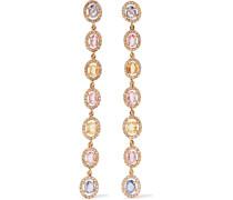 Blossom Ohrringe Aus 18 Karat  Mit Saphiren Und Diamanten