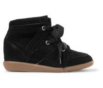 Bobby Sneakers aus Veloursleder