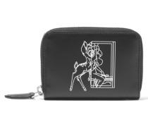 Portemonnaie Aus Bedrucktem Leder -