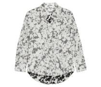 Hemd Aus Baumwollpopeline Mit Floralem Print -