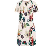 Anatolia bedrucktes Kleid aus Seiden-Georgette