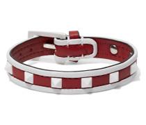 Rockstud Armband Aus Leder -
