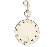 Rockstud Schlüsselanhänger aus Leder -