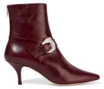 Saloon Ankle Boots Aus Leder -