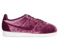 Classic Cortez Premium Sneakers Aus Samt - Burgunder