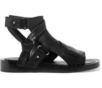 Nagano Sandalen aus Leder mit Nieten