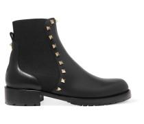 Rockstud Chelsea Boots Aus Leder -