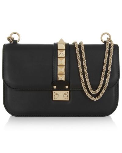 Online Gehen Authentisch Verkauf Valentino Damen Garavani Lock Mittelgroße Schultertasche aus Leder Billig Bestseller Niedriger Versand jOxm2