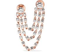 Bianca Ohrring aus 18 Karat  mit Diamanten