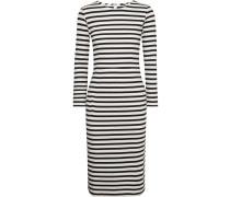 Chloe Gestreiftes Kleid aus Baumwoll-jersey