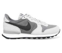 Internationalist Sneakers Aus Veloursleder, Leder Und Mesh - Grau