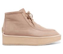 Brody Desert Boots Aus Velourslederimitat - Beige