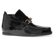 Kerin Ankle Boots Aus Lackleder - Schwarz
