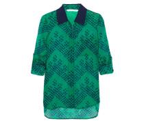 Lorelei Bedruckte Bluse Aus Seiden-georgette - Grün