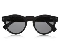 Leonard Sonnenbrille Mit Rundem Rahmen Aus Azetat -