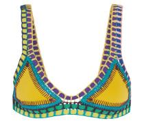 Ro Triangel-bikini-oberteil mit Häkelbesatz -