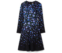 Kleid aus Crêpe mit Floralem Print -
