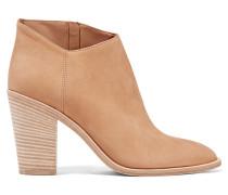 Easton Ankle Boots Aus Nubukleder - Sand