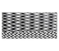 Mare Haarband Aus Strick In Häkeloptik - Schwarz