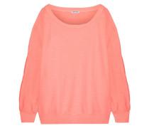 Pigment Sweatshirt Aus Baumwoll-jersey Mit Cut-outs -