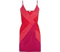 South Minikleid aus Baumwoll-Jersey in Colour-Block-Optik